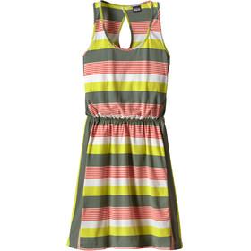 Patagonia W's West Ashley Dress Fitz Stripe Micro: Hemlock Green
